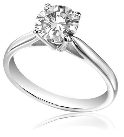 Single stone ring image 2