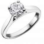 Single stone ring images 1